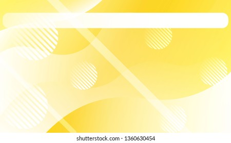 Abstract Wavy Background with Lines, Circle.. For Your Design Wallpaper, Presentation, Banner, Flyer, Cover Page, Landing Page. Vector Illustration with Color Gradient