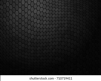 Abstract wavy black texture background