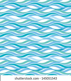 Abstract wavy ocean background