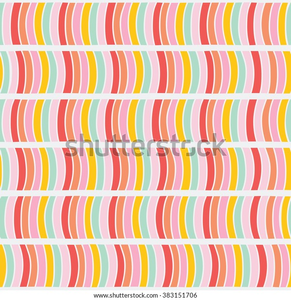 abstract wavy pattern seamless background 600w 383151706