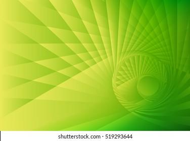 abstract wavy texture green
