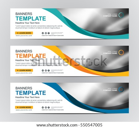 abstract web banner design background header のベクター画像素材