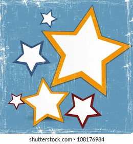 Abstract web design star