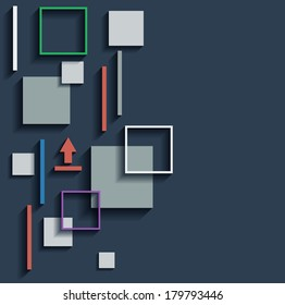 abstract web infographic vector elements. Eps10 design