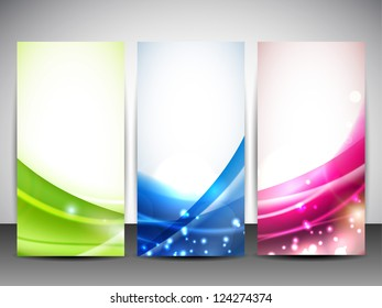 Similar images stock photos vectors of abstract bunting design abstract website banner set eps 10 maxwellsz