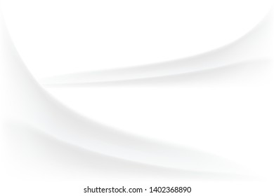 Abstract white background liquid smooth flow.