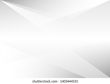 Abstract white background.design geometrical.white and gray gradient color modern background design vector Illustration.