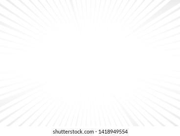 Abstract white and gray color background.Radial Stripes Abstract Background.vector Illustration.