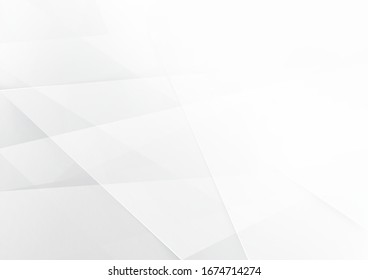 Abstract white and gray color technology modern background design vector Illustration.