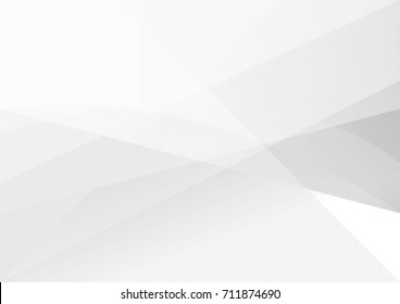 Abstract white and gray color technology modern background design vector Illustration