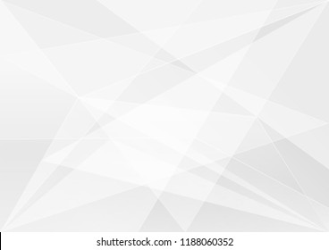 Abstract White and gray geometric color technology modern background design vector Illustration