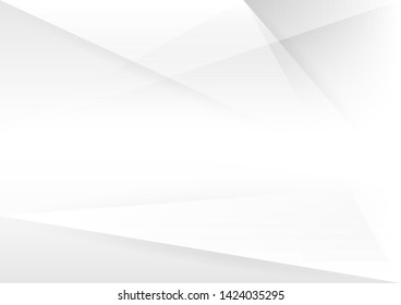 Abstract white and gray gradient background.geometric modern design.vector Illustration.