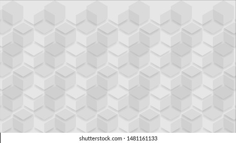 Abstract white and grey background. Subtle abstract background, blurred patterns. Light pale vector background. Abstract pale geometric pattern