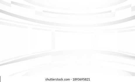 Abstract white and grey color lines background. Pattern geometric style. Space for text. Texture with light and shadow. Digital technology wallpaper used in the corporate. Vector illustration.