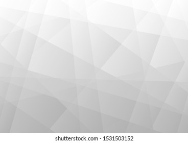Abstract white and grey color. Stripe design background. Vector Eps10.