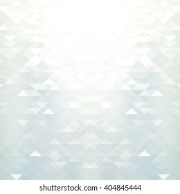 Abstract white & grey geometric background