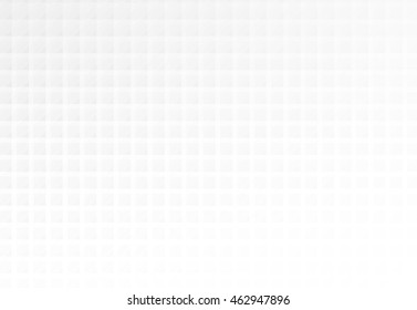Abstract white and grey mosaic square shapes background, banner design.
