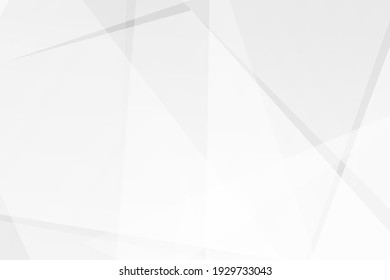 Abstract white and grey on light silver background modern design. Vector illustration EPS 10. - Shutterstock ID 1929733043