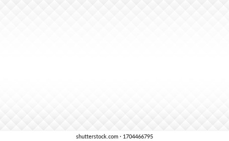 Abstract white modern seamless geometric texture background with copy space centered, Vector illustration
