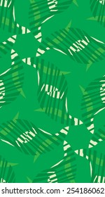 Abstract wild green grass seamless background pattern