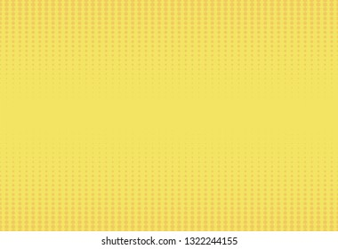 Abstract yellow background, dot pattern.Vector illustration.