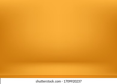 Abstract yellow background gradient vector