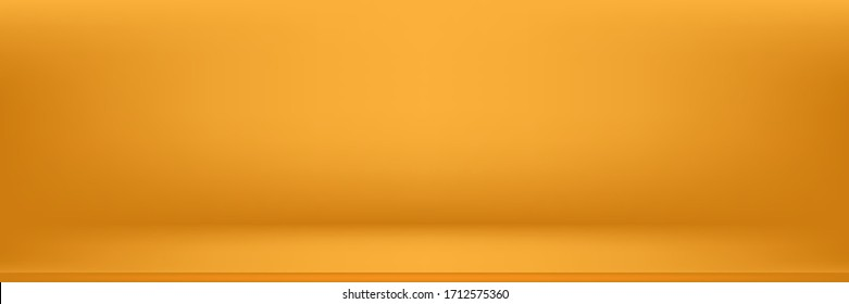 Abstract yellow backgrounds gradient vector illustration