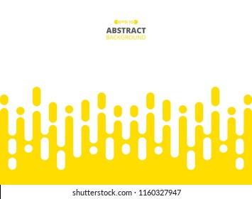 Abstract of yellow color stripe patterns background, Illustration vector eps10