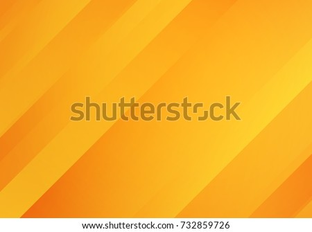 Abstract Yellow Orange Colored Background Diagonal Stock