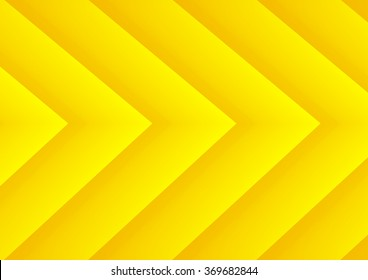Abstract yellow speed theme arrows background for presentation