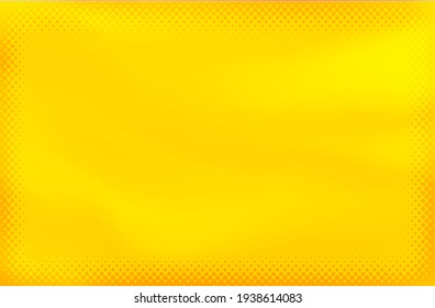 Abstract yellow watercolor background design.