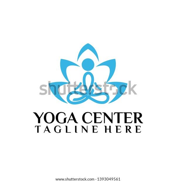 abstract yoga wellness meditation logo design stock vector royalty free 1393049561 shutterstock