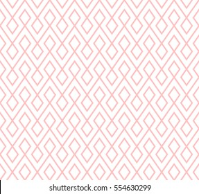 abstract zigzag and rhombus pattern background with pink.geometrical pattern