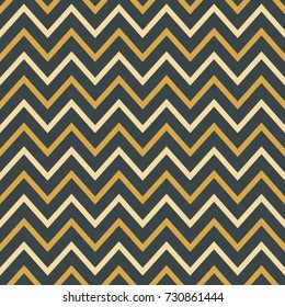 Abstract zigzag seamless striped textured geometric pattern. Background for wedding, invitations, paper design