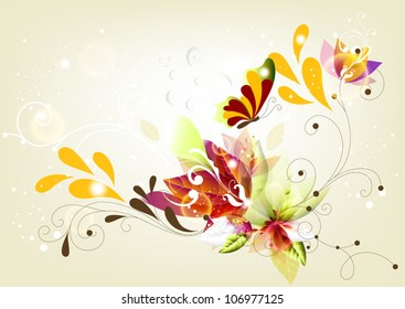 abstraction colorful background