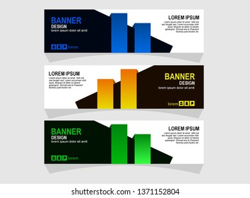 Abstrak banner design