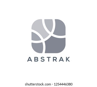 ABSTRAK logo vector