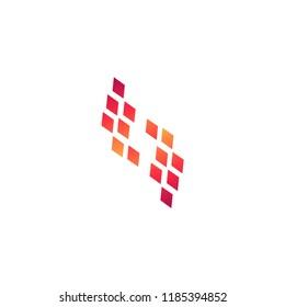 Abstrak modern logo