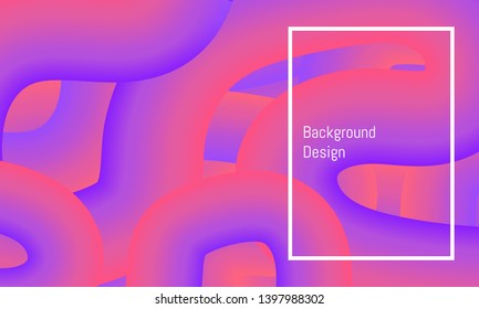 abstrct big line curve colorful beautiful background design. vector illustration eps10