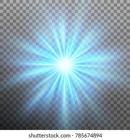Abtract blue energy with a burst background. And also includes EPS 10 vector