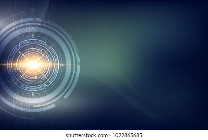abtract hi tech sci fi concept background eps 10 vector
