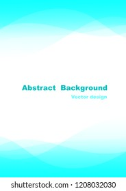 Abtract wave Background is like smoothly wave, vector illustrator
