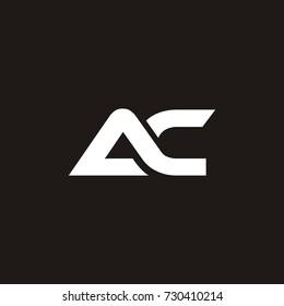 AC initial letter logo design template vector