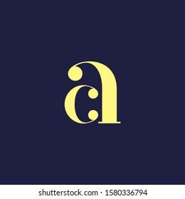 ac intial logo ca letter design