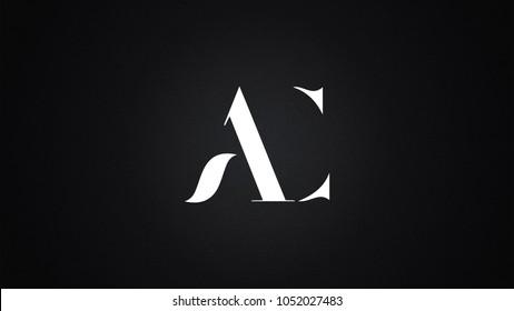 AC Letter Logo Design Template Vector