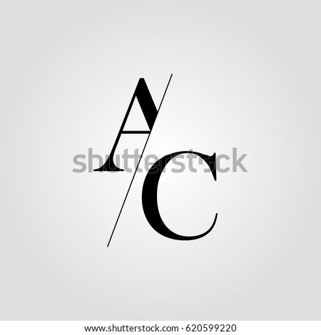 AC Logo Stock-Vektorgrafik (Lizenzfrei) 620599220 – Shutterstock