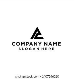 ac logo / ac triangle logo / triangle logo