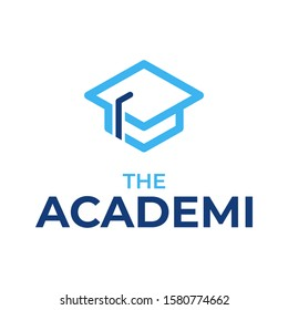 Academi Logo Icon, Hat Graduate