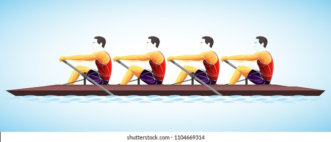 academic rowing four