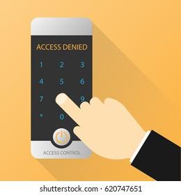 access control denied